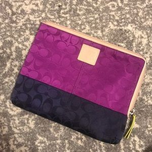 COACH tablet case. Excellent condition!